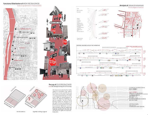 湖南大学杜同学获耶鲁大学建筑学录取作品集展示