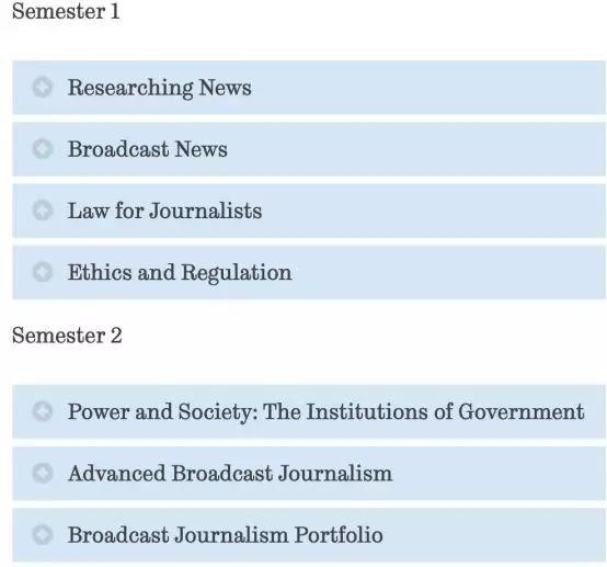 谢菲尔德大学广播新闻专业解析